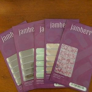Jamberry Nail Wraps - 5 unopened packs